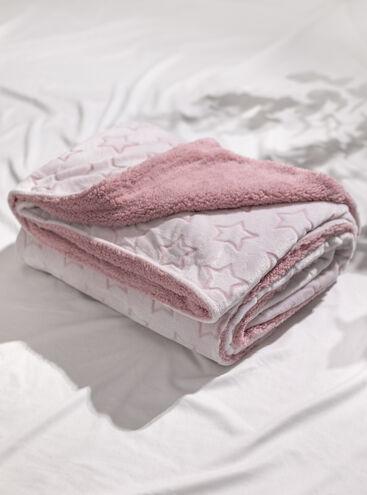 Carved star fluffy blanket