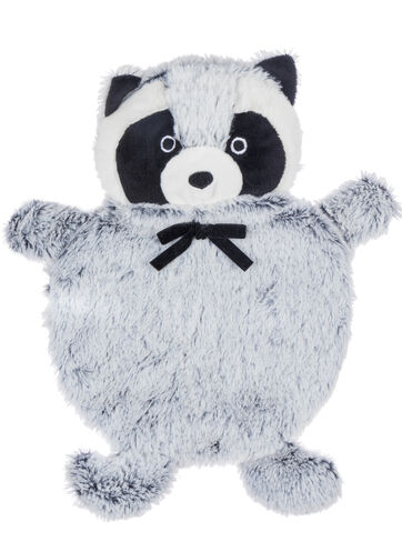 Racoon hot water bottle