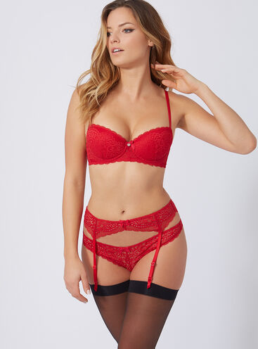 Emmeline suspender belt