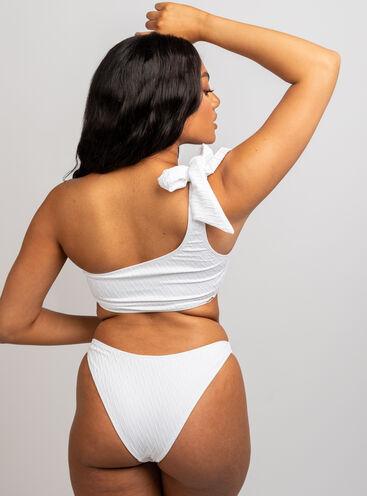 Java textured crop bikini top