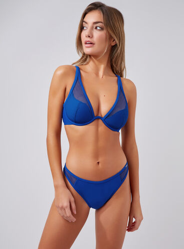 Zante mesh Brazilian bikini briefs