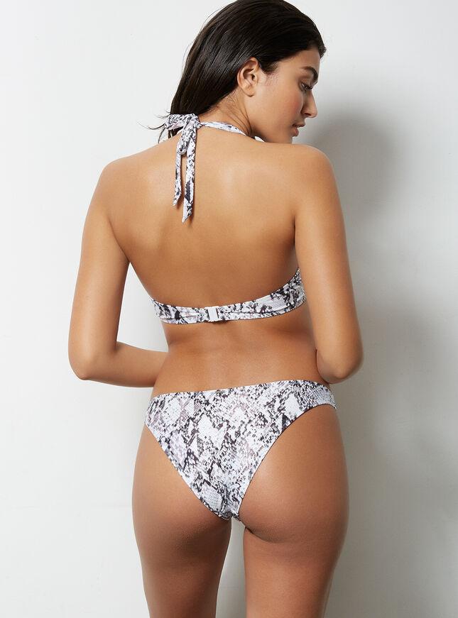 Ibiza snake Brazilian bikini briefs