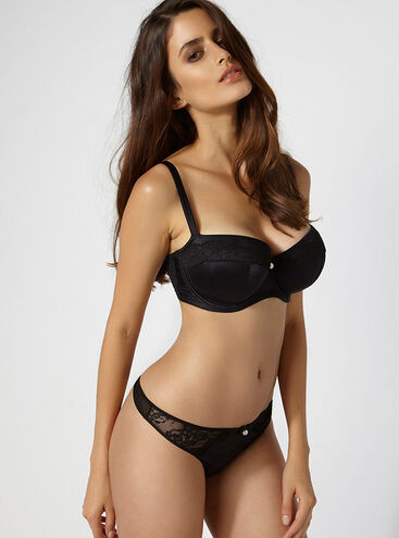 Samantha full support balconette lingerie set
