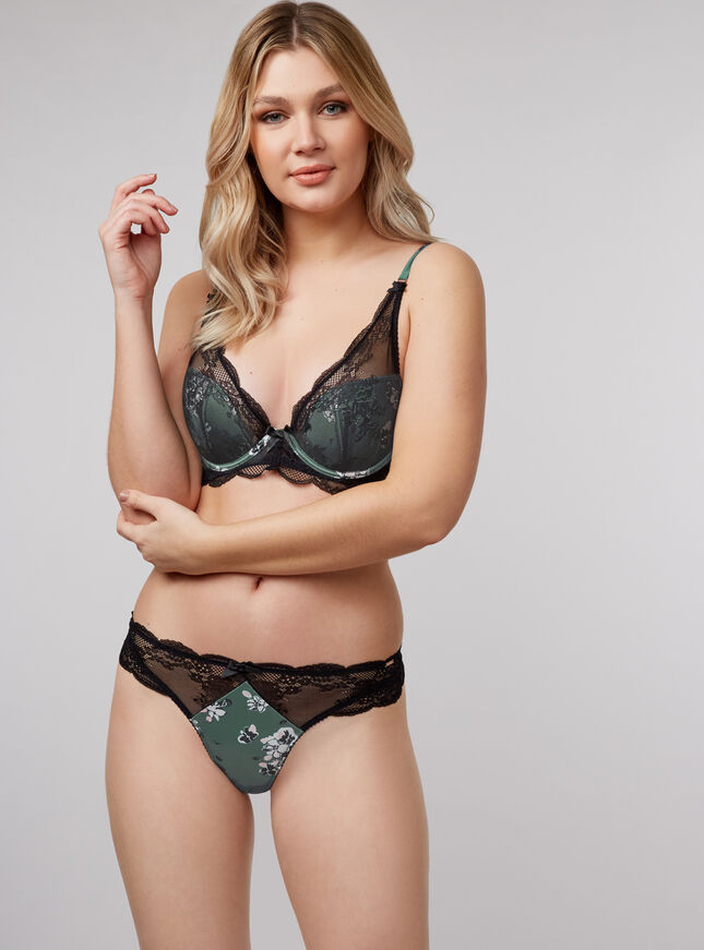 Romilly plunge lingerie set