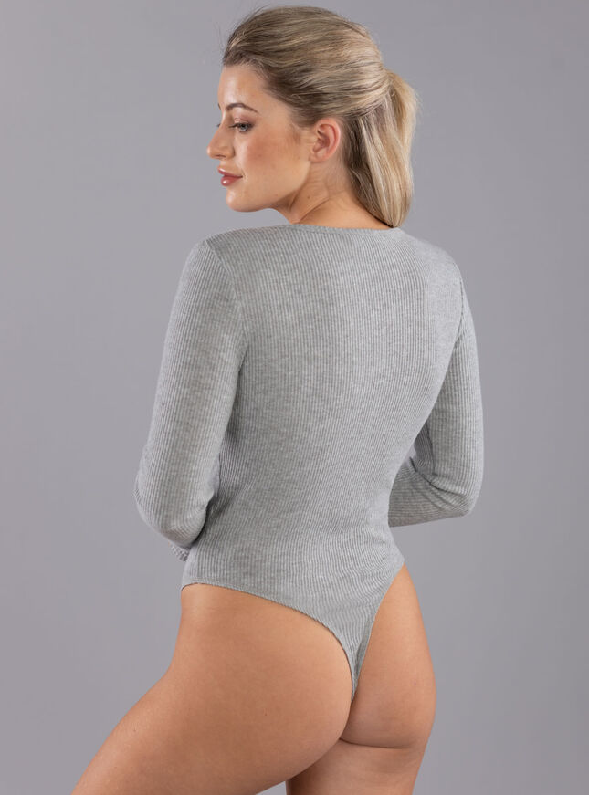 Lillie ribbed long sleeve body