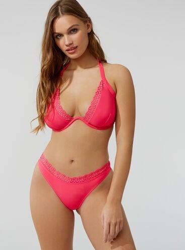 Ibiza lazer cut bikini set