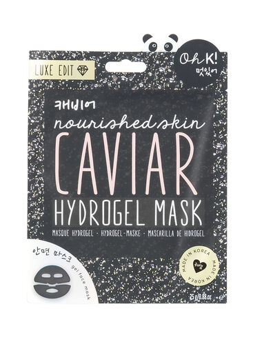 Caviar hydrogel sheet mask