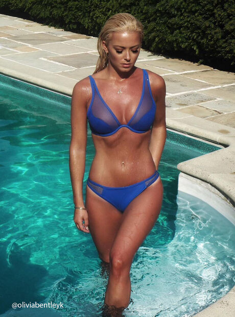 Zante mesh bikini top