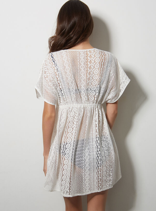 Jenny cotton lace kaftan
