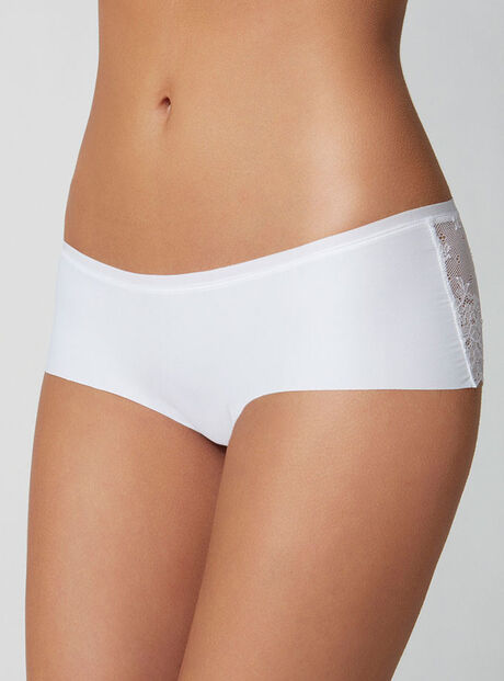 Lace back shorts