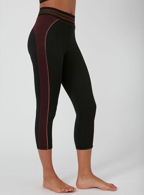Activewear copper crop leggings