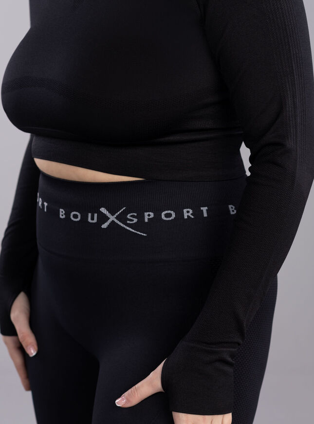 Boux Sport textured panel cycling shorts