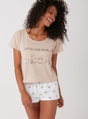0157d26451f Pugs in a row pyjama set