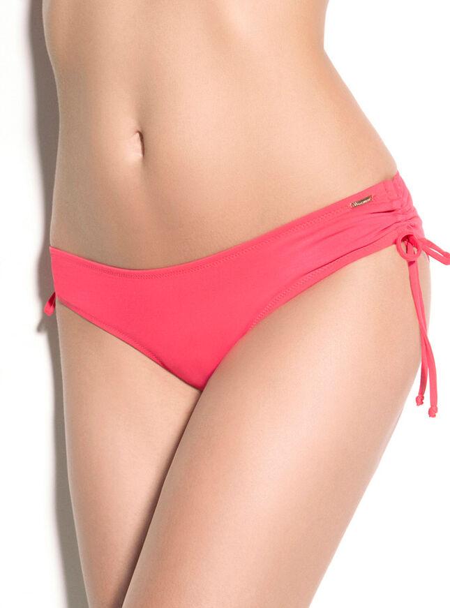 Ruched bikini briefs