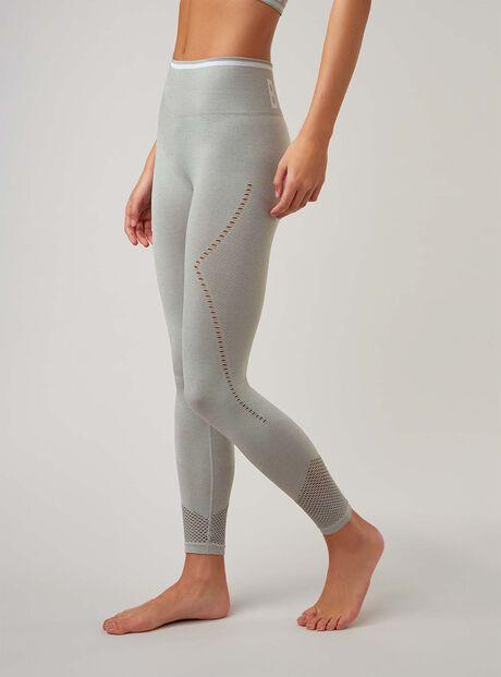 Boux Sport jacquard mesh leggings