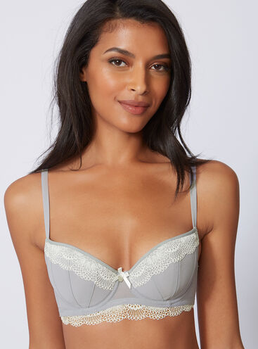 Chantal balconette bra