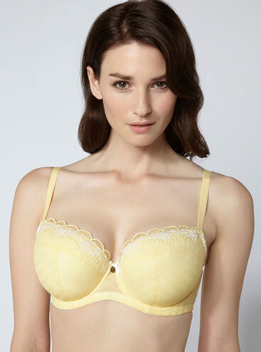 Charlotte full support balconette bra