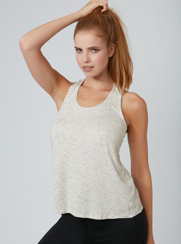 Activewear T-bar vest top