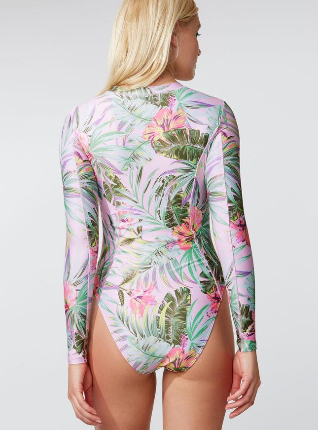 Activewear palm bodysuit