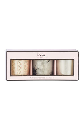 3 Pack candle gift set
