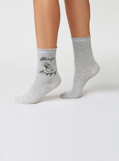 2 pack bee happy socks