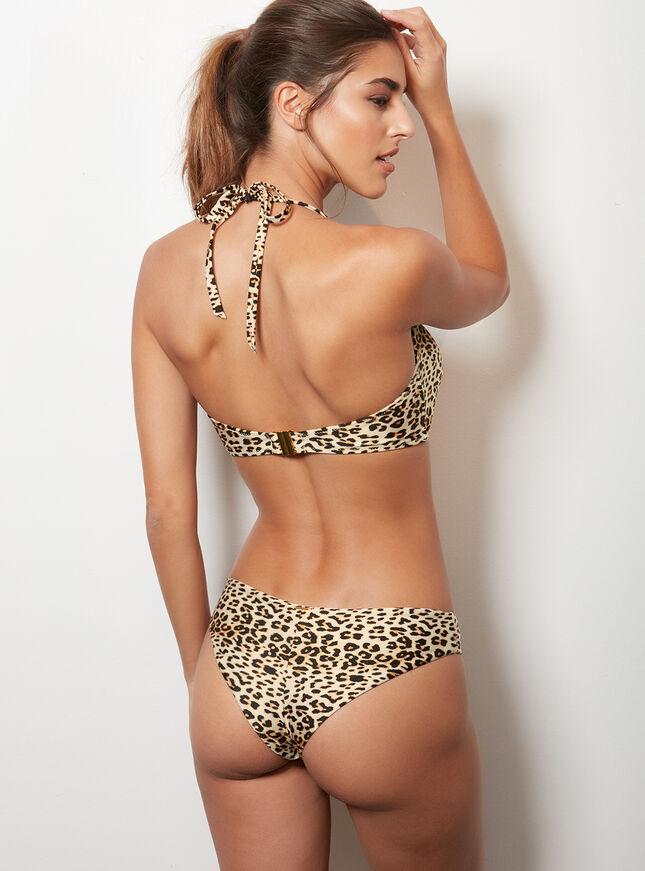 Sierra leopard Brazilian bikini briefs