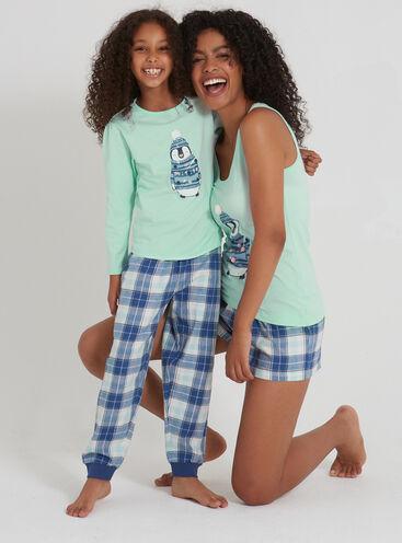 Penguin family pyjama set