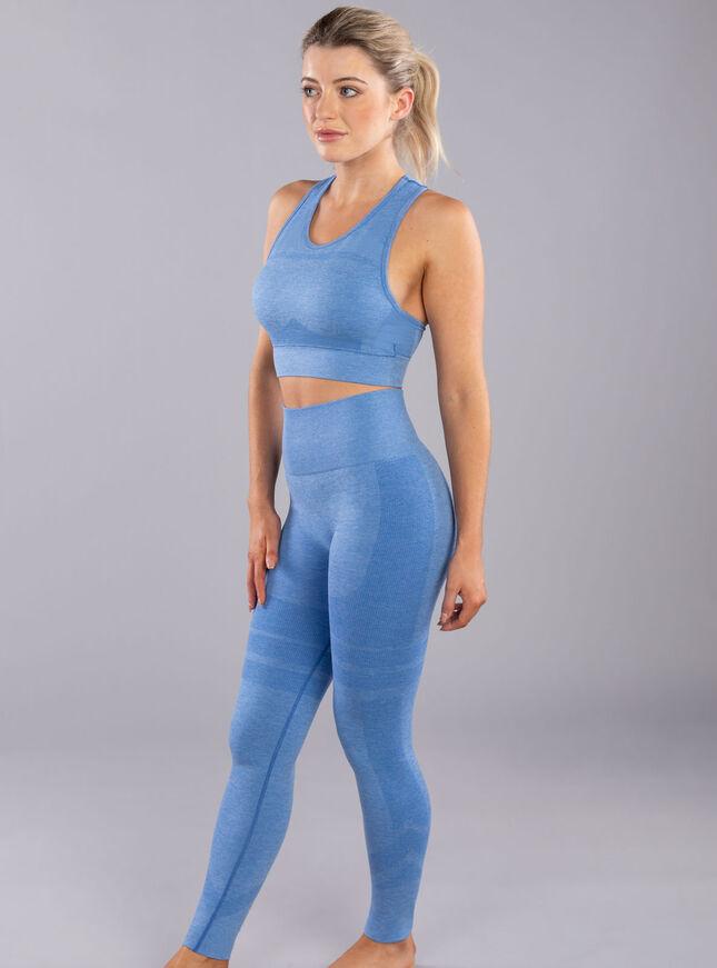 Boux Sport Contour marl seamless leggings