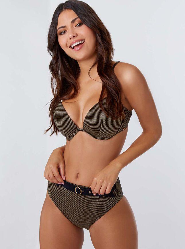 Moritz boost bikini top