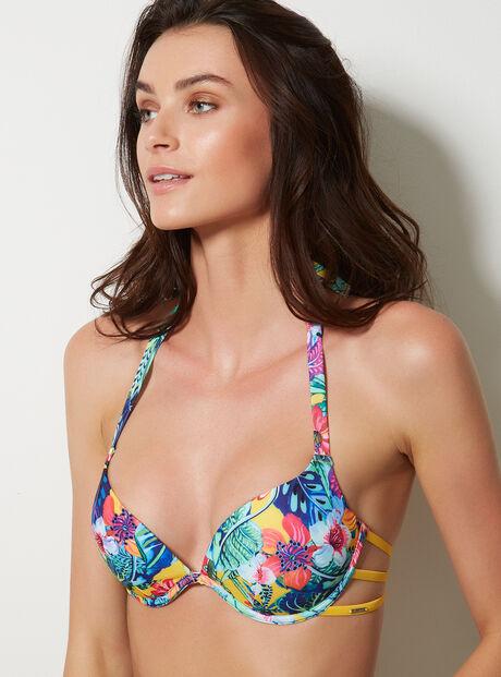 Argentina floral boost bikini top