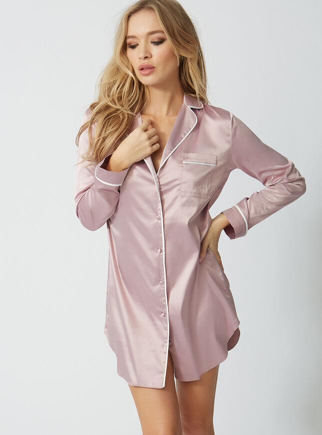 Rita satin nightshirt