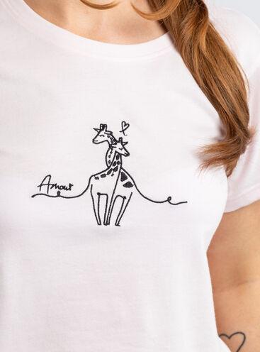 Amour giraffe tee & short