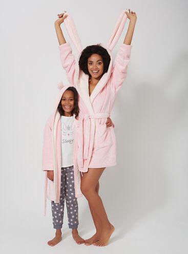 Bunny family robe set