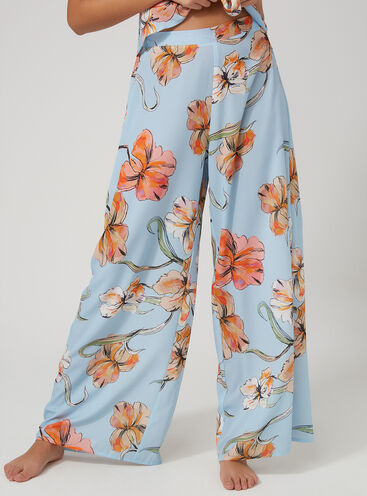 Imogen floral palazzo pants
