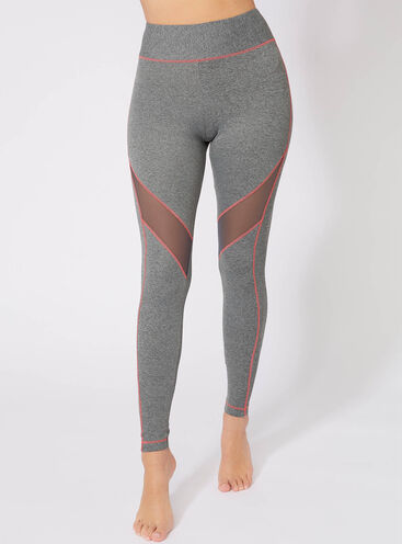 Activewear panelled leggings