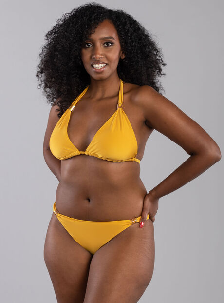Goa ruched bikini briefs