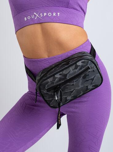 Boux Sport camo print bum bag