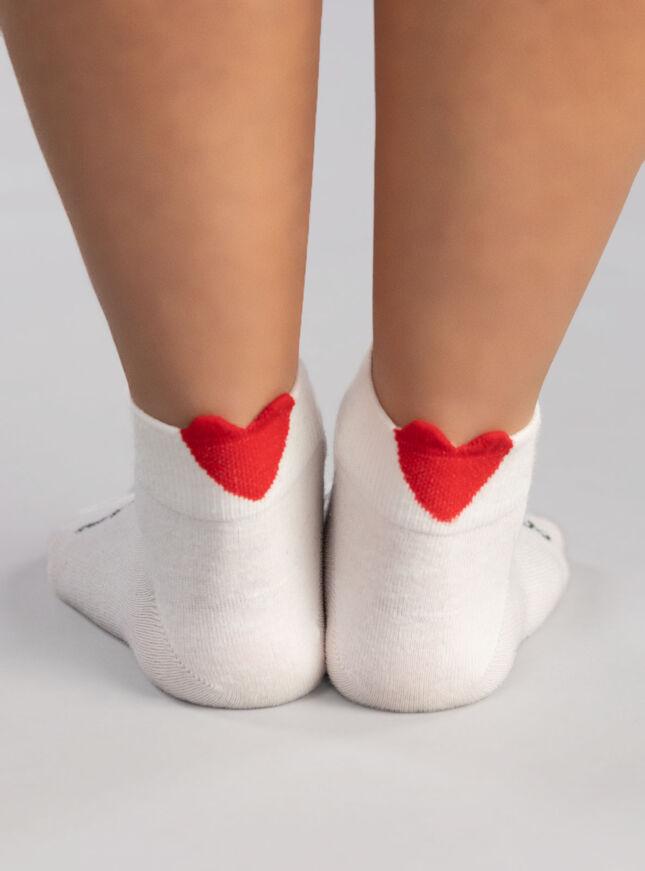 3 pack heart trainer sock