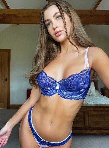 Lilia balconette bra