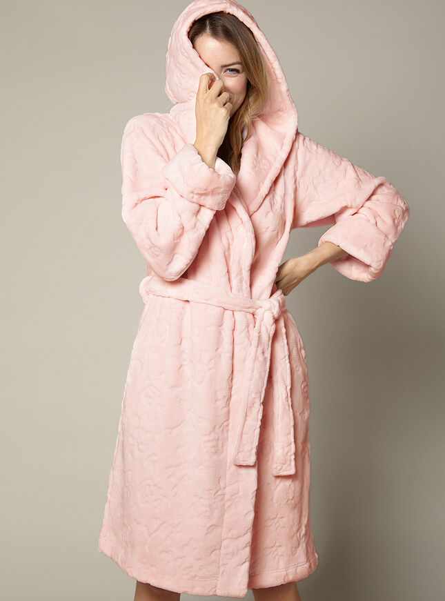 Florence hooded robe