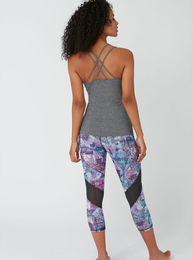 Activewear crossback vest