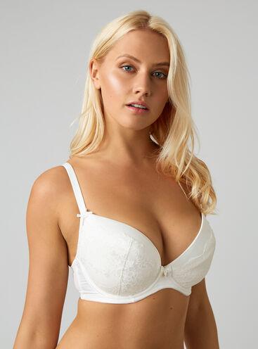 Samantha full support plunge bra