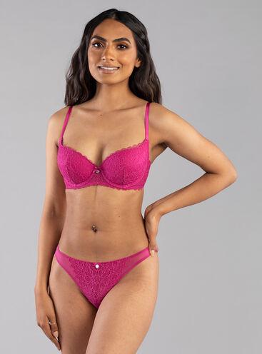 Piper balconette lingerie set