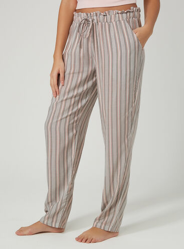 Stripe pyjama pants