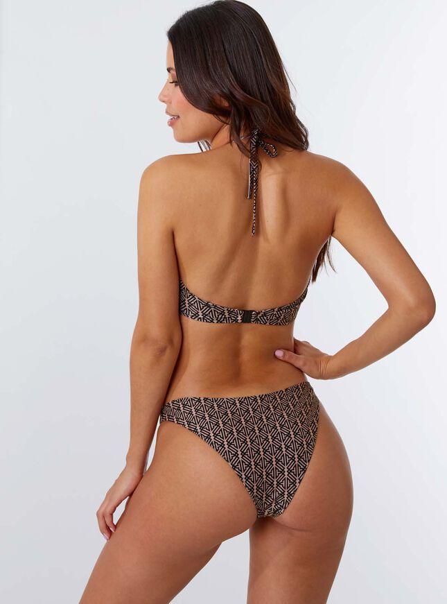 Ibiza aztec mono wire bikini top