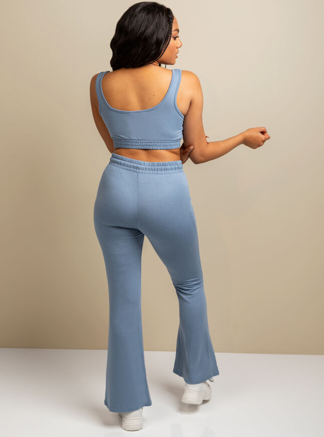Mila lounge flared pant