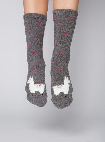 Llama twin socks