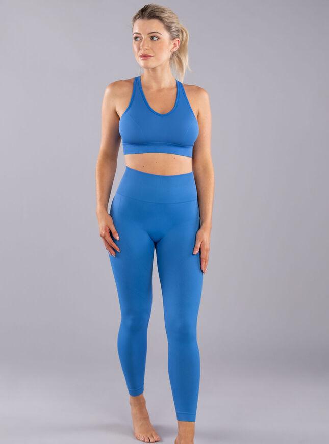 Boux Sport Sculpt textured seamless 7/8 leggings