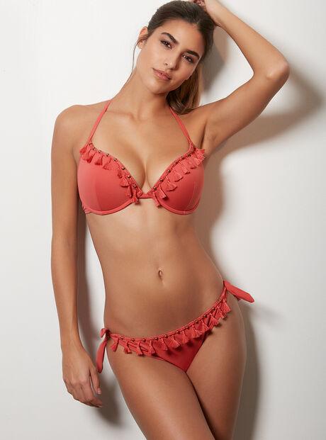 Croatia tassel bikini briefs