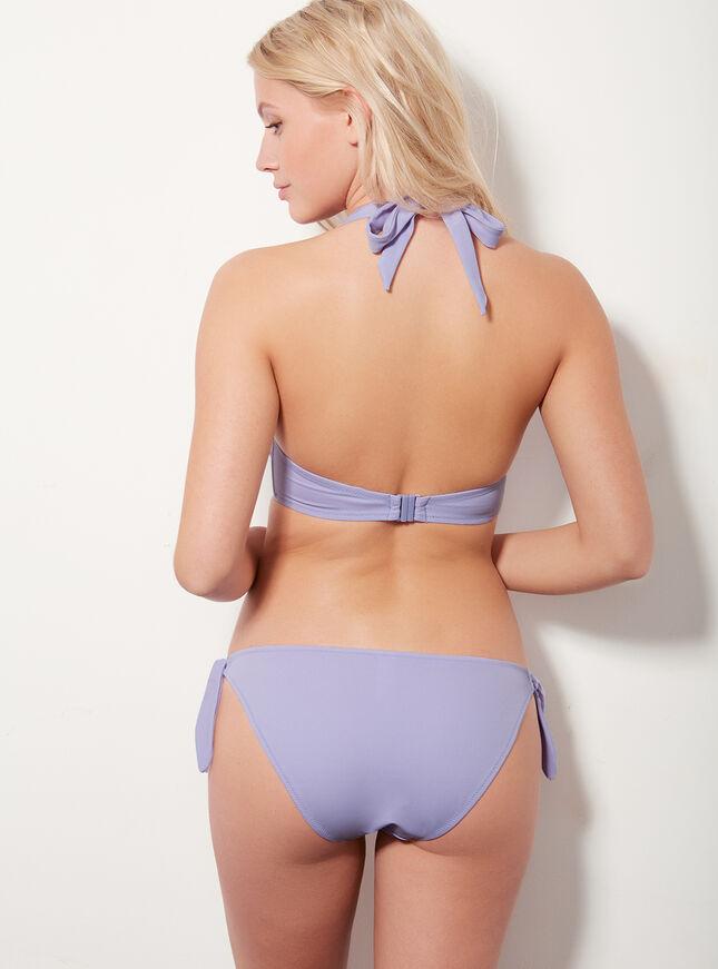 Matte multiway bikini top